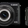 キヤノンがLEDライト内蔵の「EF-M28mm F3.5 マクロ IS STM」を組み合せたミラーレスカメラ「EOS M3」「EOS M10」の新キット8種を2016年7月下旬に発売予定
