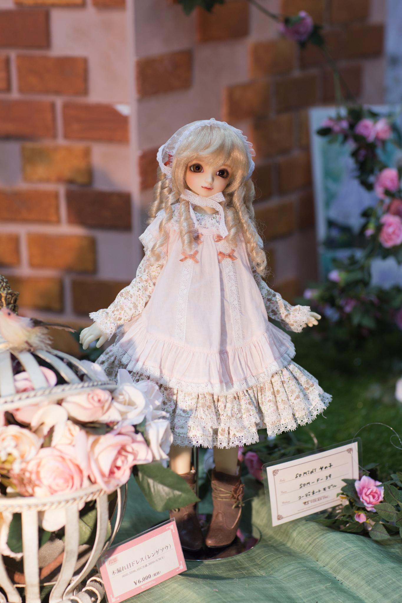 2016年_初夏の新作ドレス&アイテム_木漏れ日ドレス(レンゲソウ)