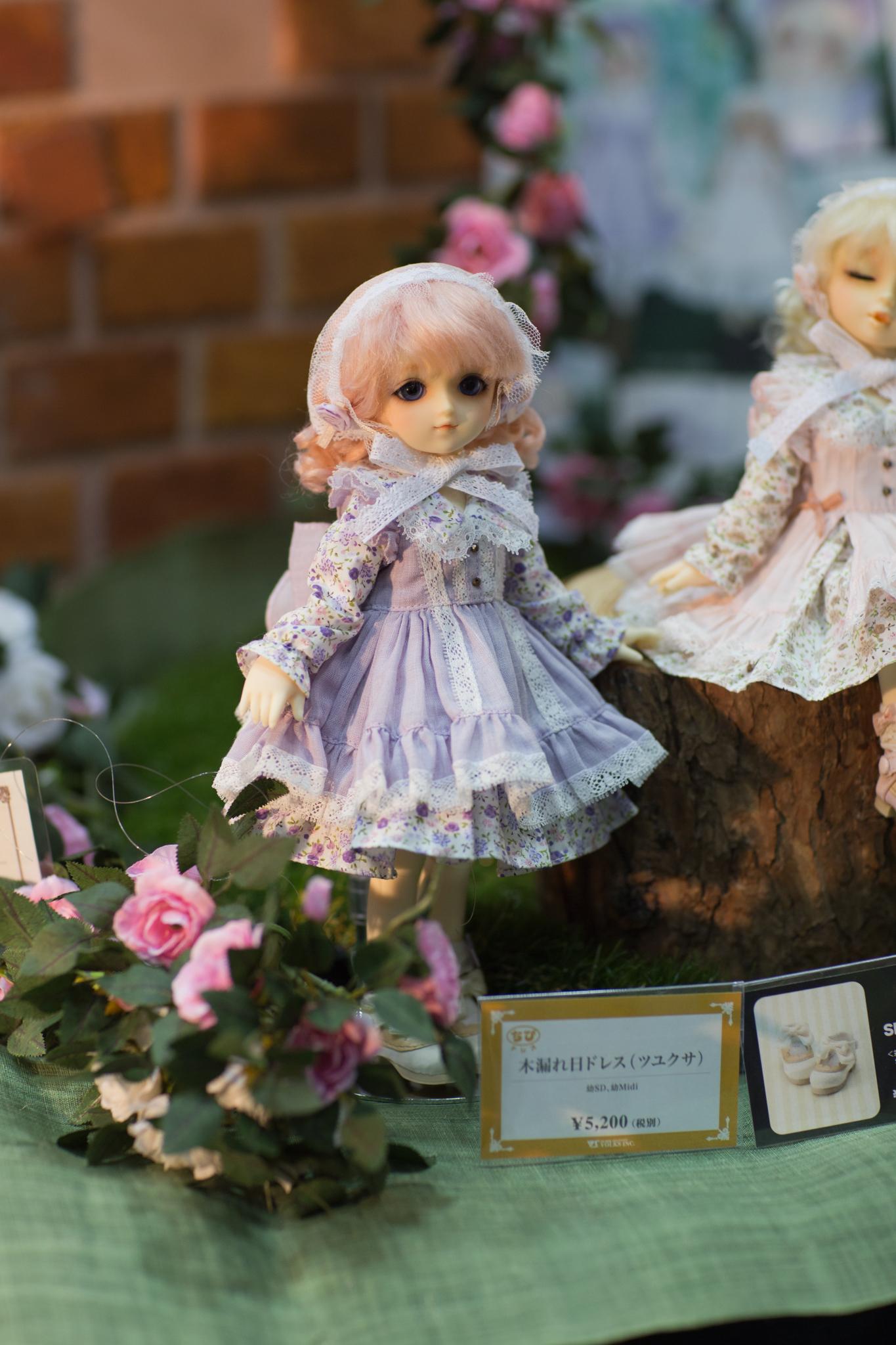 2016年_初夏の新作ドレス&アイテム_木漏れ日ドレス(ツユクサ)