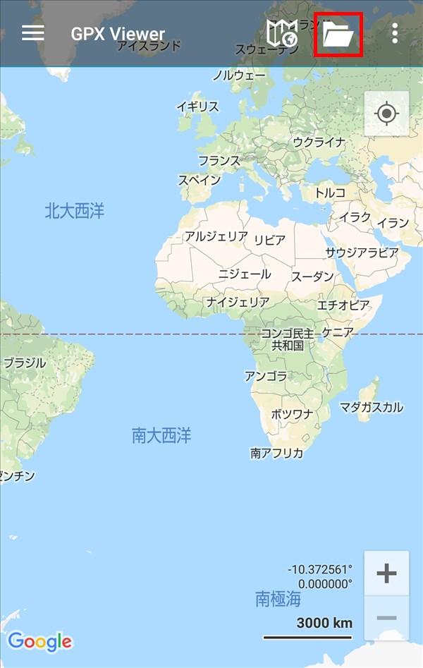 GPXViewer_トップ_マップ