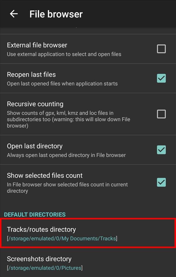 GPXViewer_DEFAULT -DIRECTORIES
